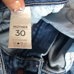 MOTHER Jeans - MOTHER The Wilder Medium Kitty Crop Flare-30